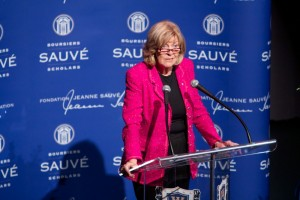 Jeanne Sauve Address - Sally Armstrong